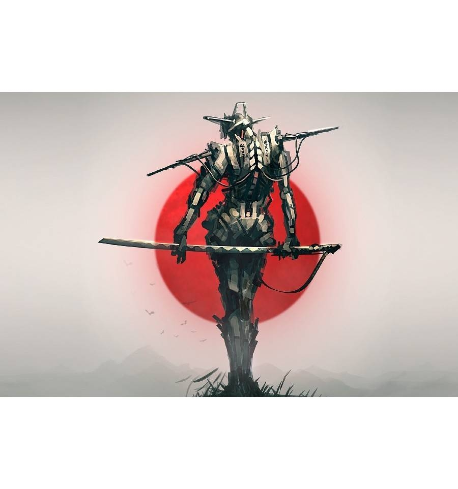 Wall Art – Samurai Poster – Art Of Heroes Pertaining To Best And Newest Samurai Wall Art (View 16 of 20)