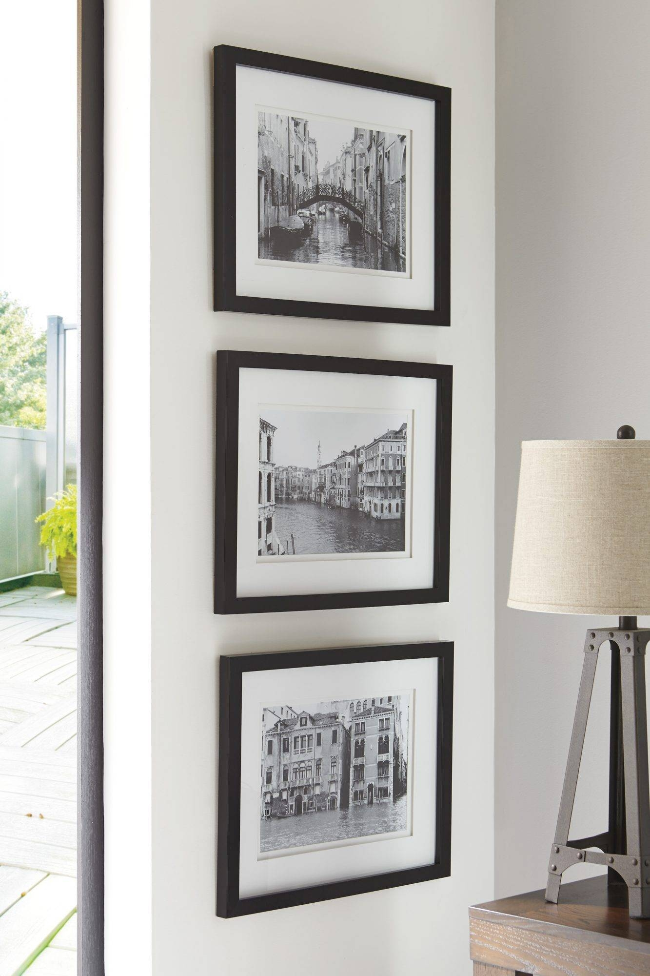 Wall Art Set | Jr Furniture Inside Most Popular Black And White Wall Art Sets (View 16 of 20)