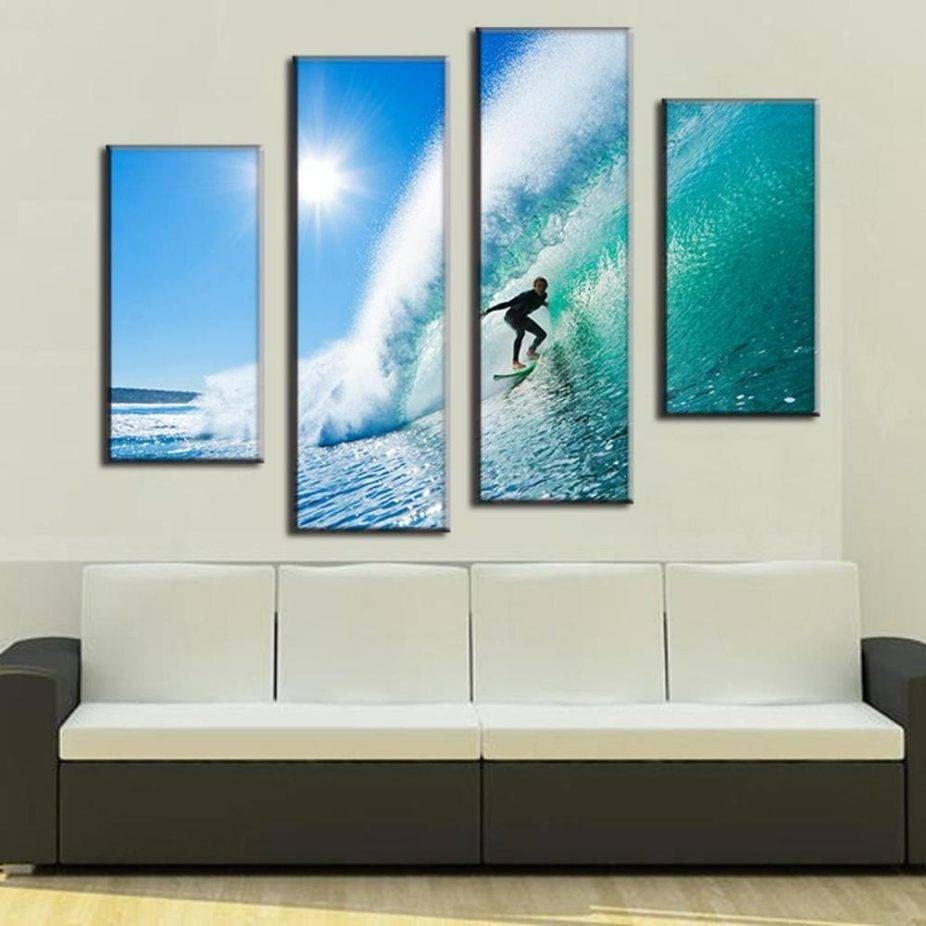 Wall Art Sets For Living Room 2017 With Online Get Cheap Surfing With Most Current Cheap Wall Art Sets (View 20 of 20)