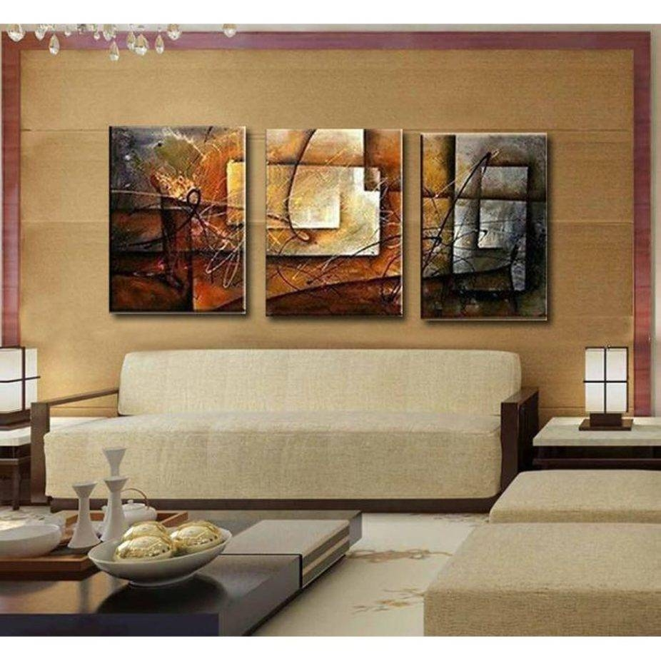 Wall Art Sets For Living Room Also Online Get Cheap Oil Painting Inside Most Recent Wall Art Sets For Living Room (View 17 of 20)