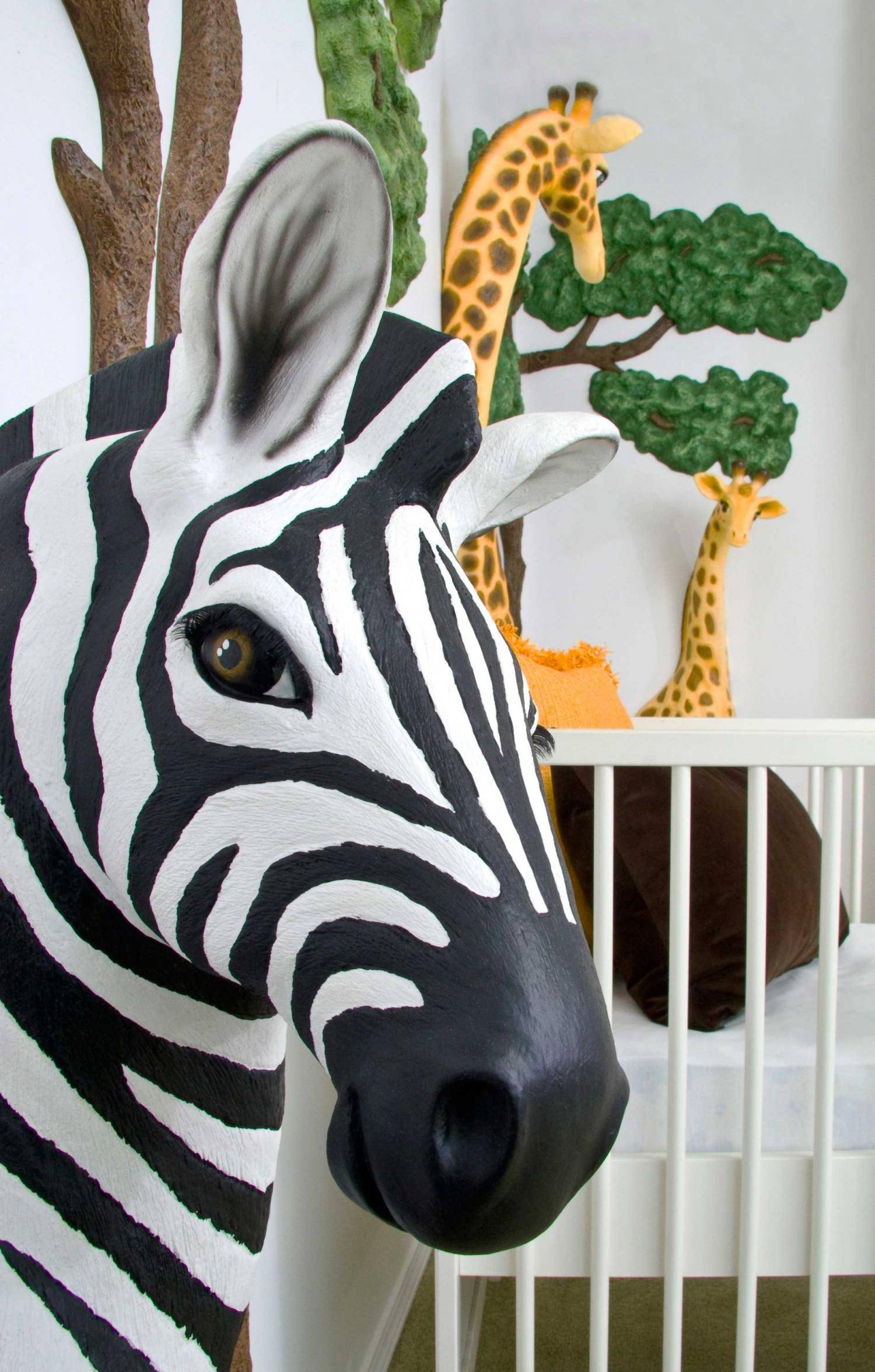 Featured Photo of Zebra 3d Wall Art