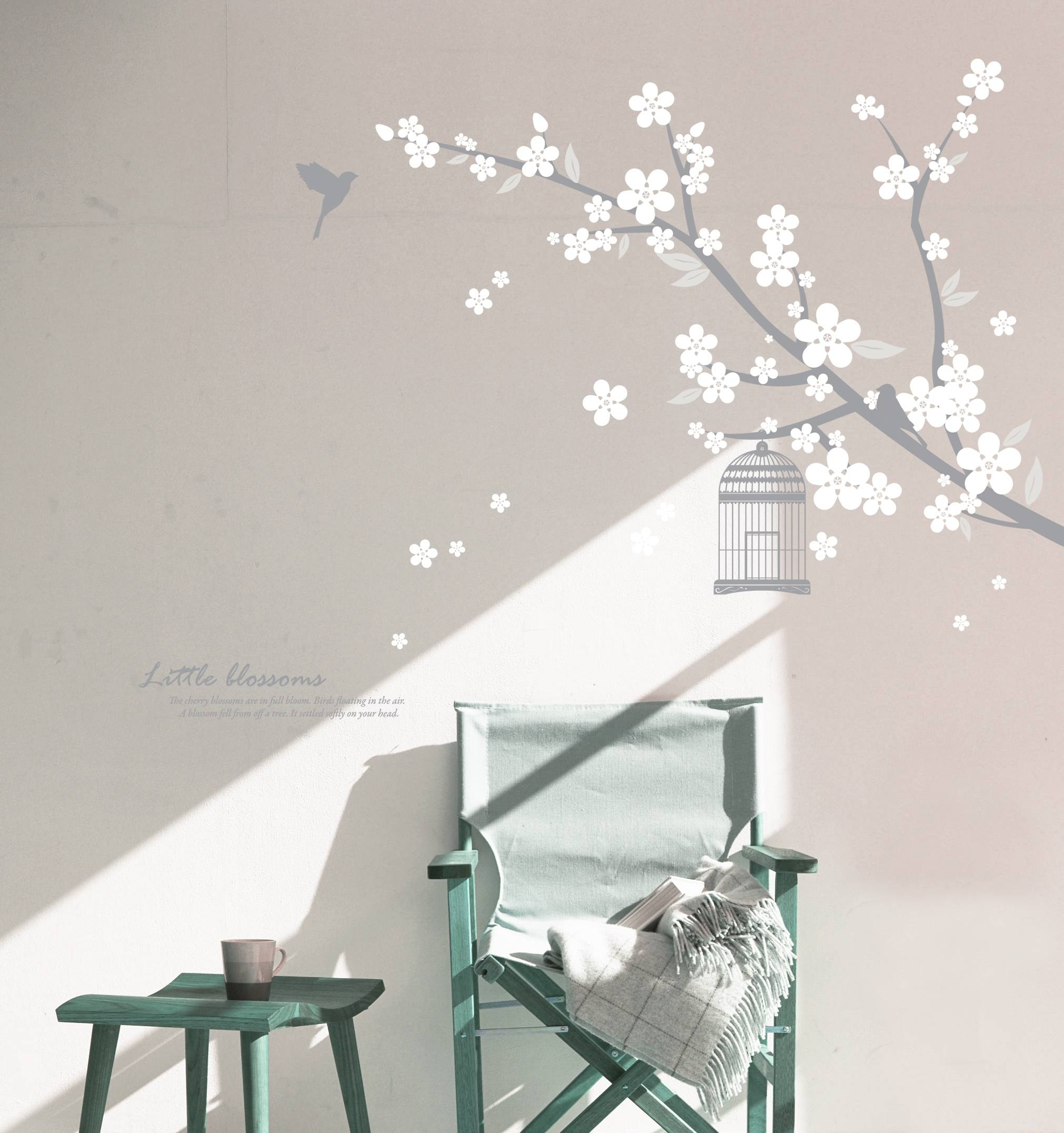 Featured Photo of Blossom White 3D Wall Art