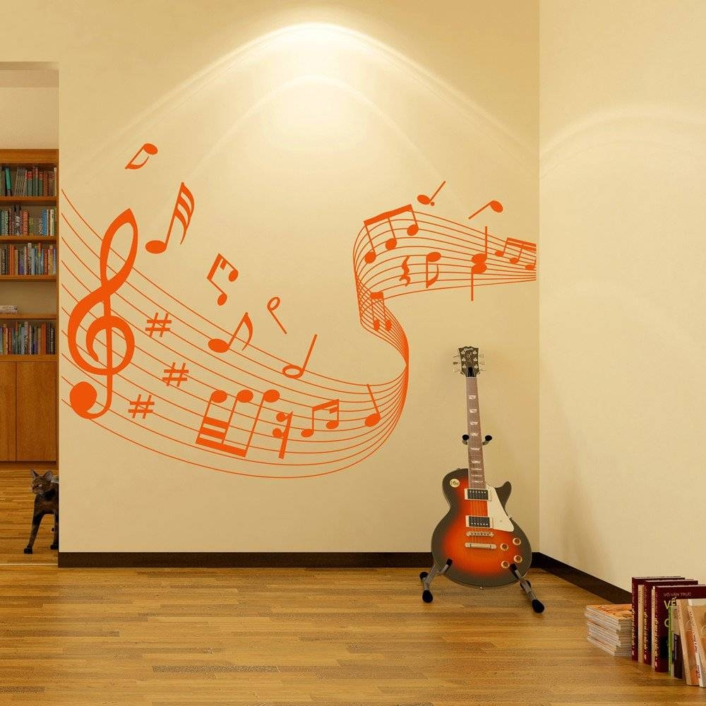 The Best Music Note Art For Walls