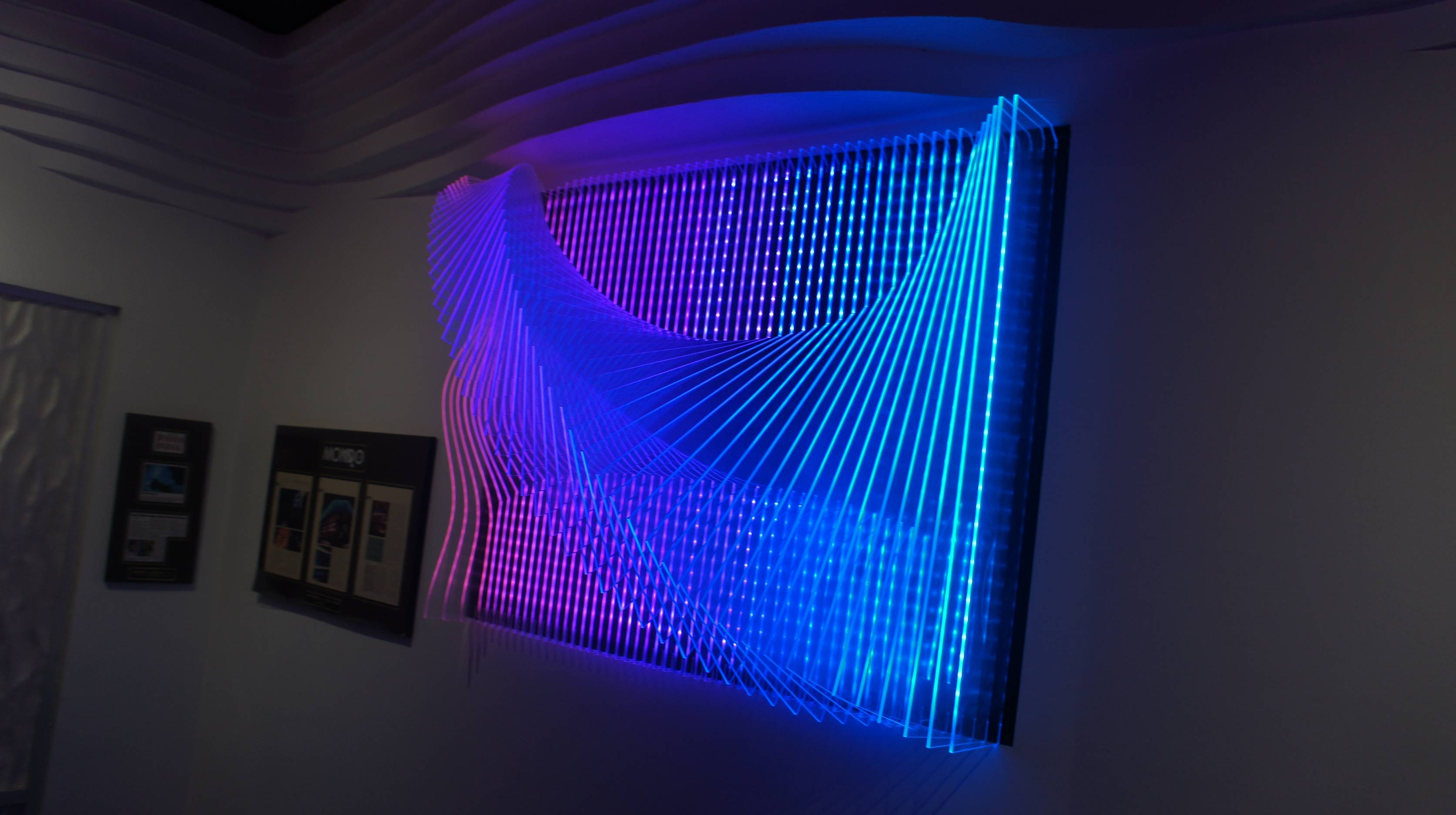 Wall Art With Led Lights – The Art Of The Future | Warisan Lighting Intended For Most Current 3D Wall Art With Lights (View 19 of 20)