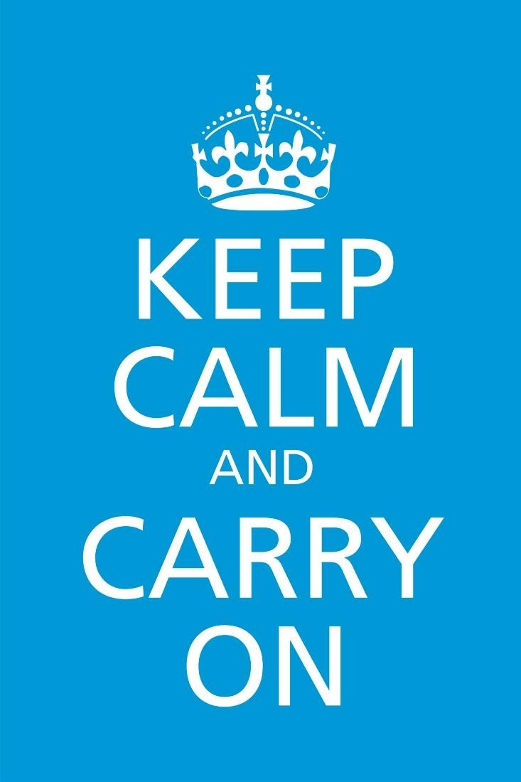 Wall Art With Regard To Most Recently Released Keep Calm And Carry On Wall Art (View 25 of 25)