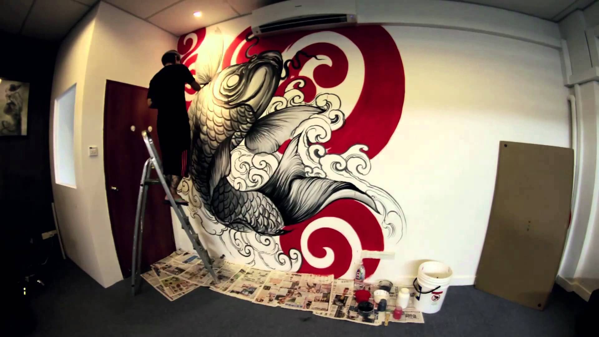 Wall Artdonald Tattoo - Youtube in Most Up-to-Date Tattoos Wall Art