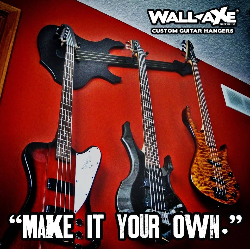Wall Axe Custom Guitar Hangers With Regard To Most Popular Guitar Metal Wall Art (View 28 of 30)