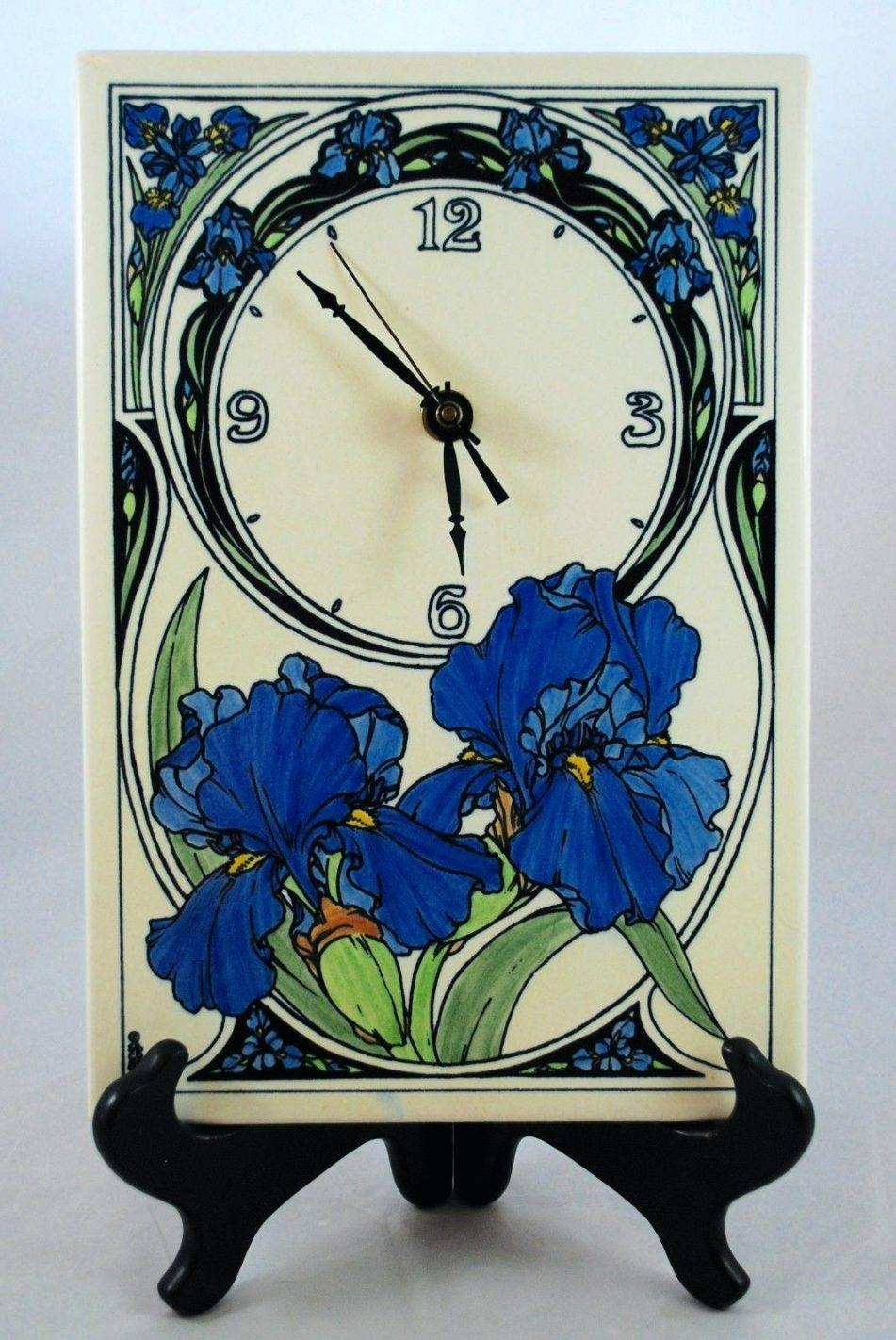 Wall Clocks: Ceramic Wall Clock (View 28 of 30)
