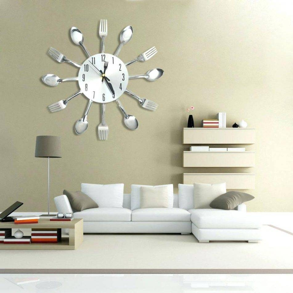 Wall Clocks: Large Diy Wall Clock (View 20 of 20)