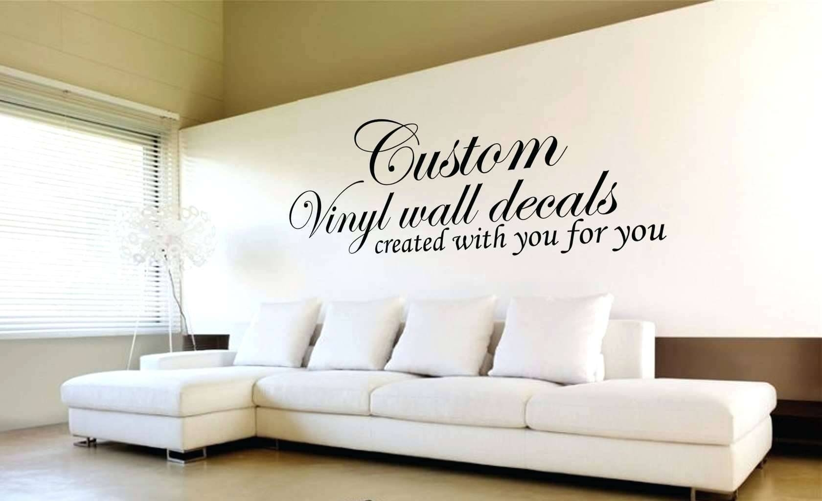 Wall Decal Design Your Own Custom Family Name Wall Decal Inside 2018 Customized Wall Art (View 15 of 20)