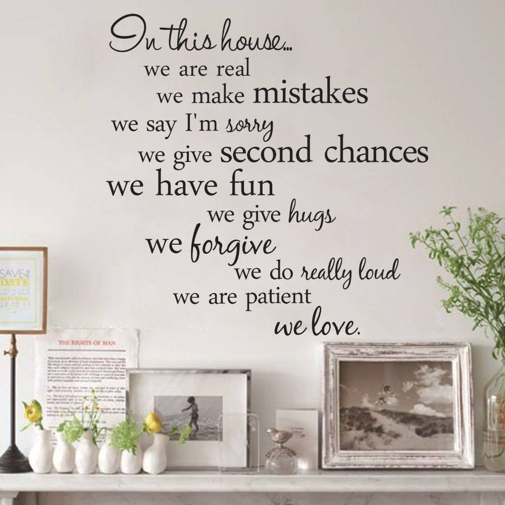 Wall Decal: Inspirational Disney Sayings Wall Decals Disney Vinyl Pertaining To Best And Newest Inspirational Sayings Wall Art (View 26 of 30)