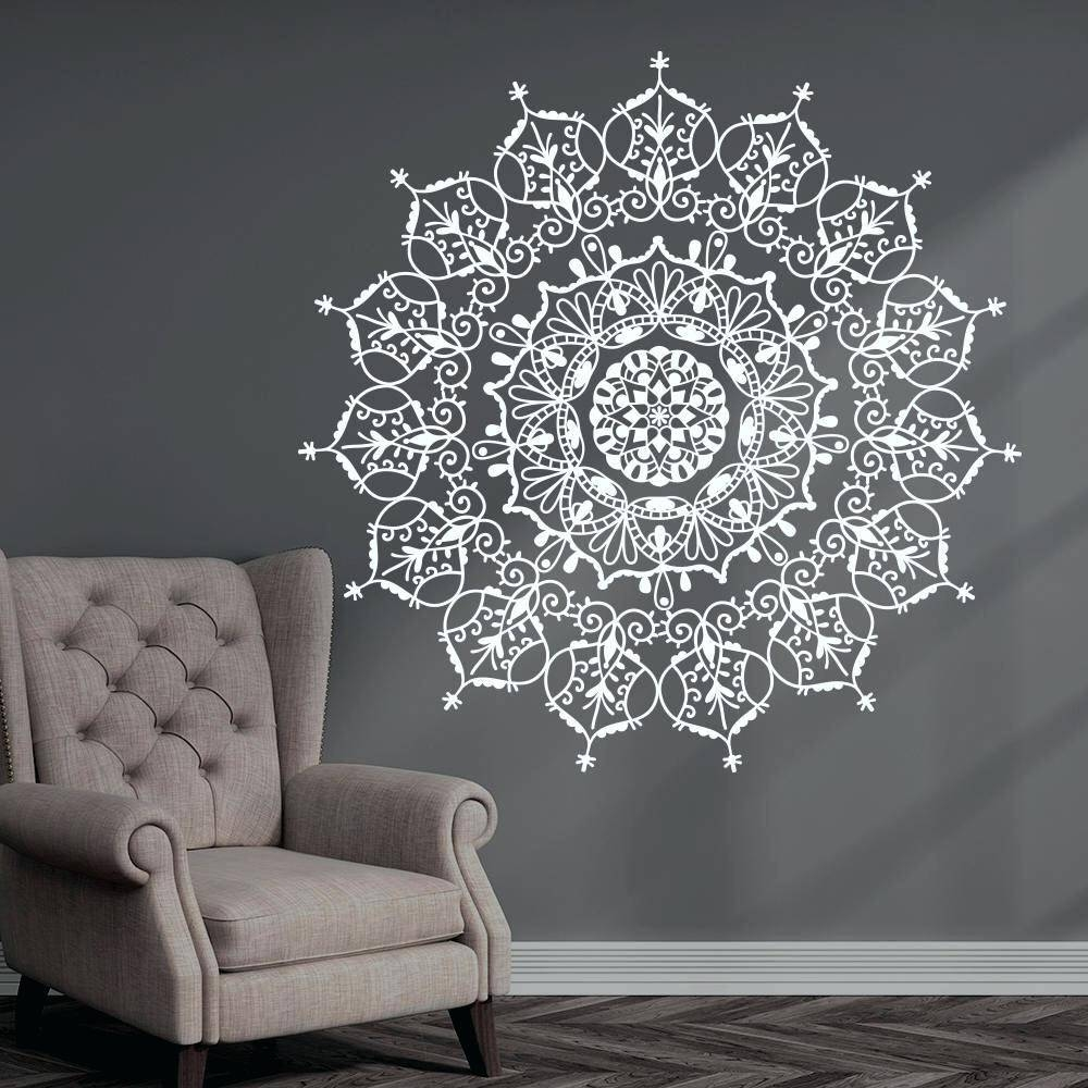 Wall Decal Patterns Designer Wall Art Stickers Design Patterns Inside Most Up To Date Pattern Wall Art (View 17 of 20)