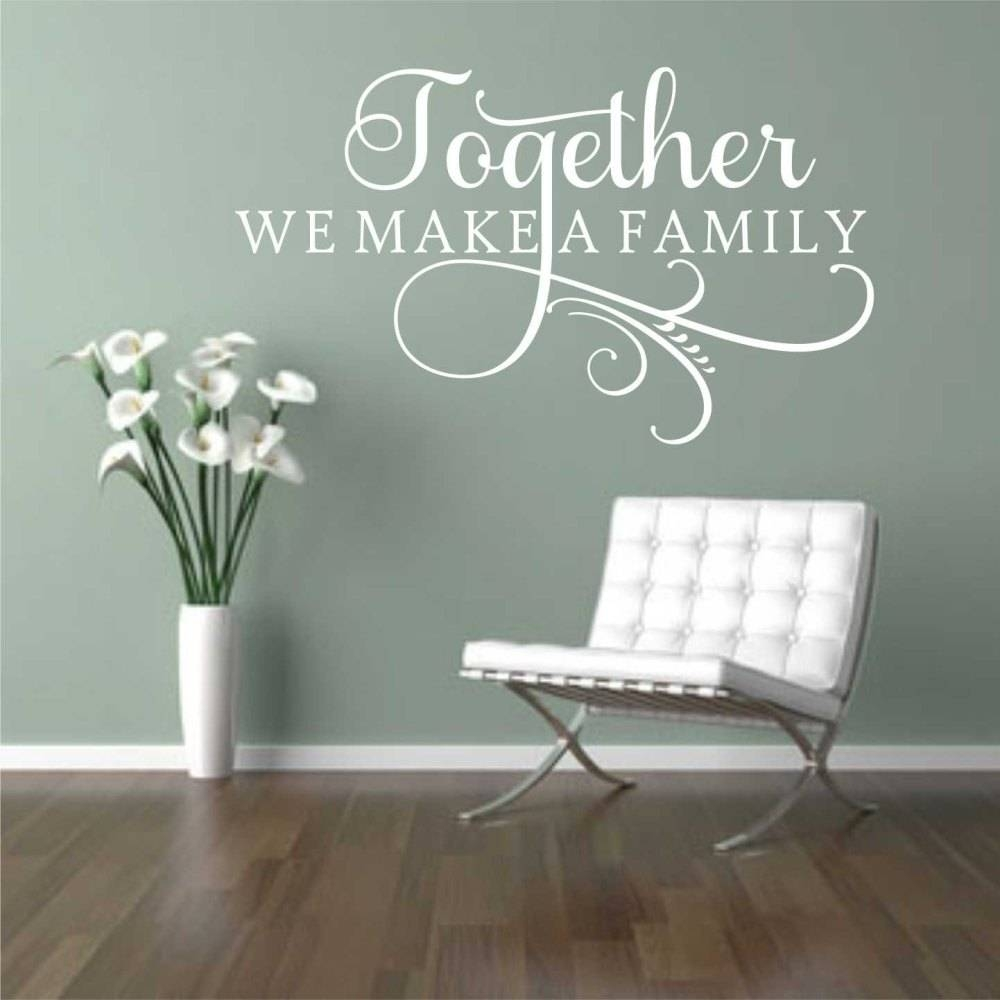 Wall Decals At Walmart Wall Decal Good Look Family Wall Decals Inside Most Up To Date Walmart Wall Stickers (View 16 of 25)