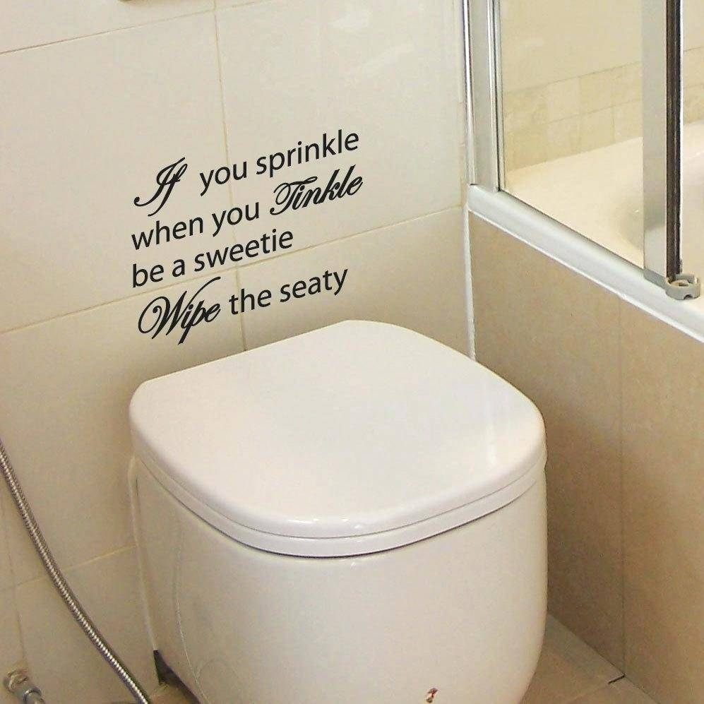 Wall Decals Bathroom – Hondaherreros Throughout 2017 Fish Decals For Bathroom (View 27 of 30)