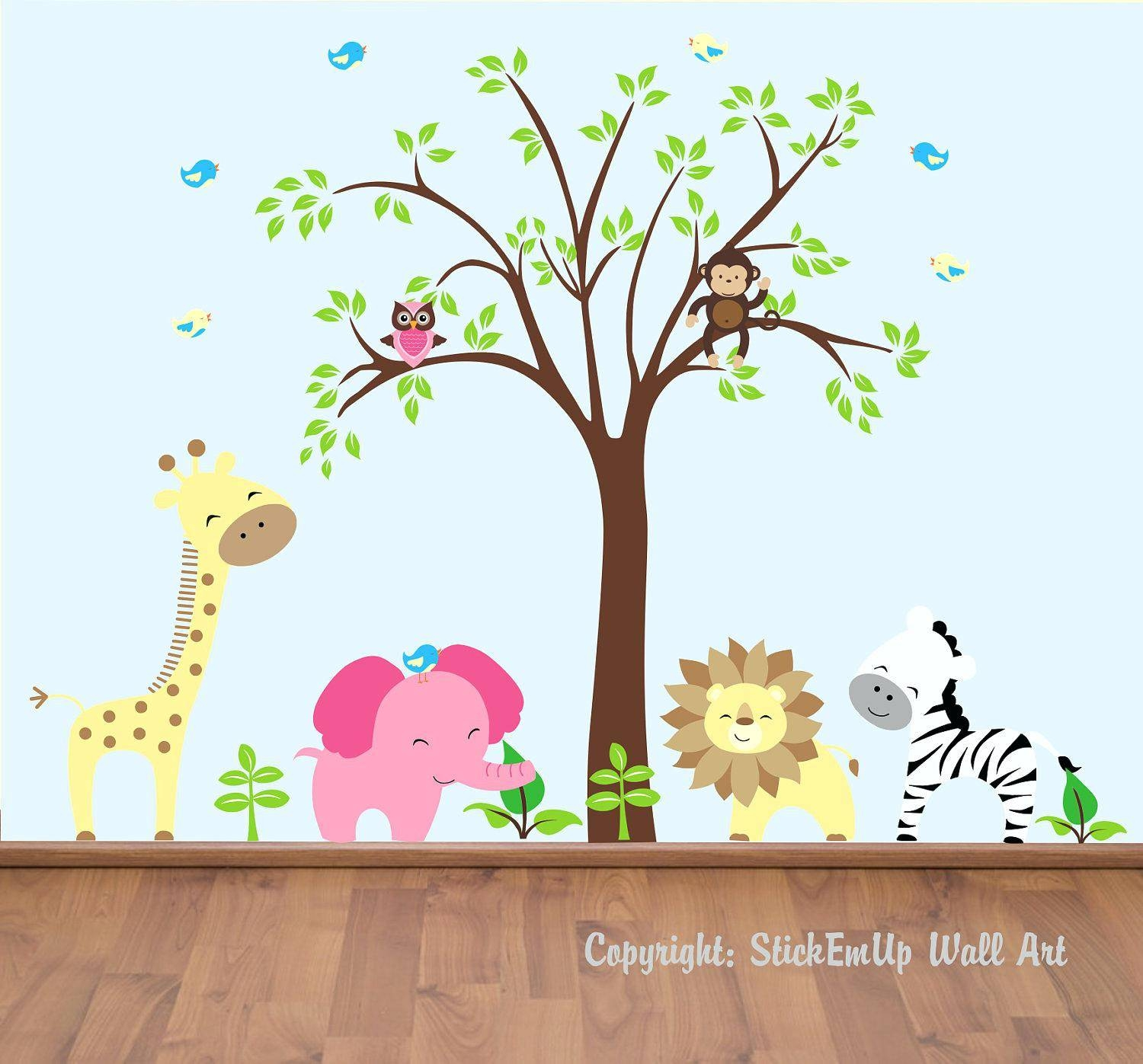 Wall Decals Children Wall Decals For Nursery Kids Children Wall Regarding 2018 Children Wall Art (View 13 of 15)