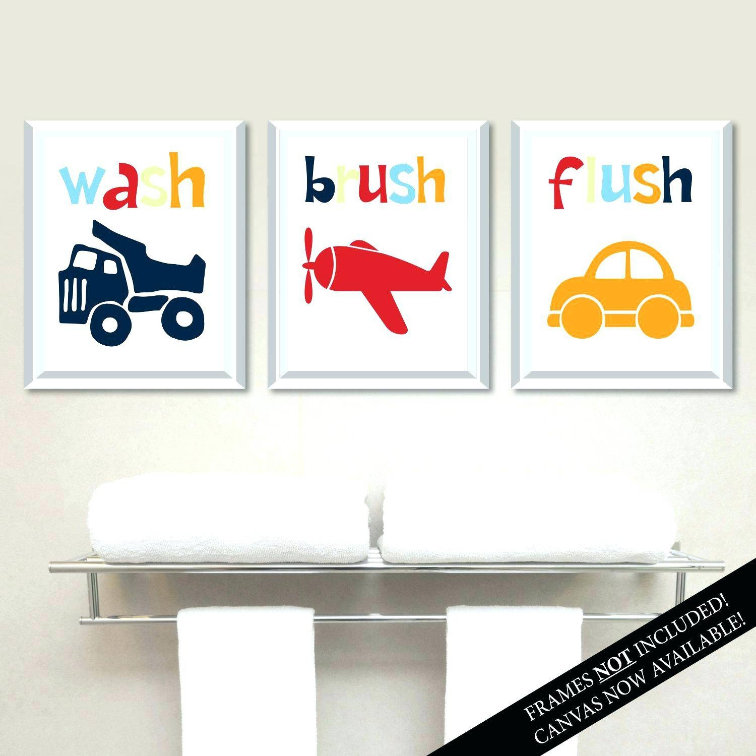Wall Decals For Kids Bathroom – Gutesleben With Regard To Latest Kids Bathroom Wall Art (View 16 of 20)