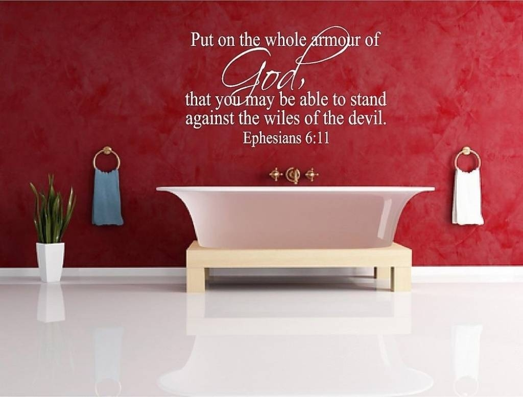 Wall Decals Ideas: Awesome Bible Verse Wall Decals For Nursery For Latest Nursery Bible Verses Wall Decals (View 18 of 25)