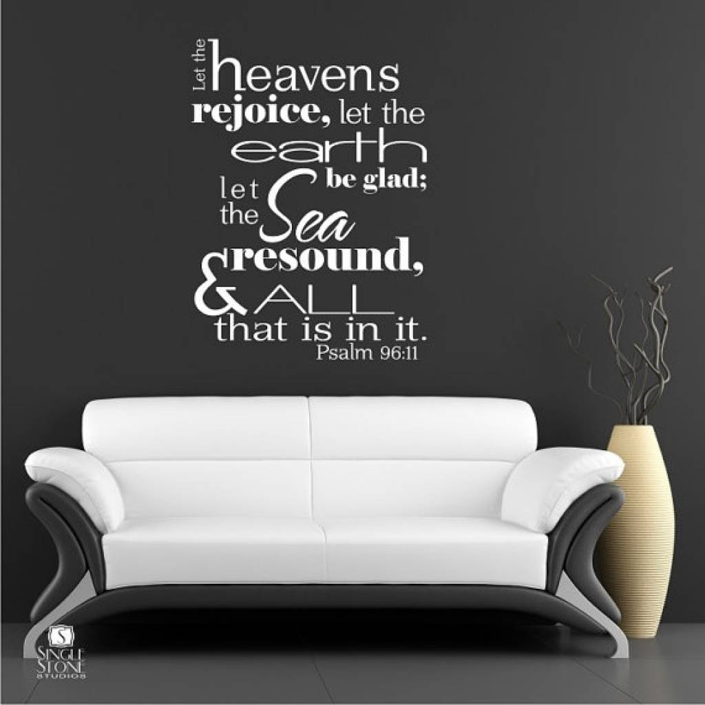Wall Decals Ideas: Awesome Bible Verse Wall Decals For Nursery In Best And Newest Nursery Bible Verses Wall Decals (View 8 of 25)