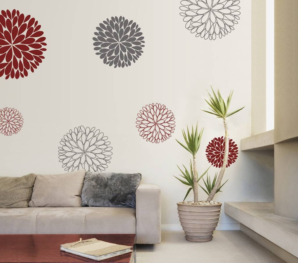 Wall Decals : Ideas Red Wall Decals 39 Red Floral Wall Stickers Intended For Newest Red Sox Wall Decals (View 27 of 30)