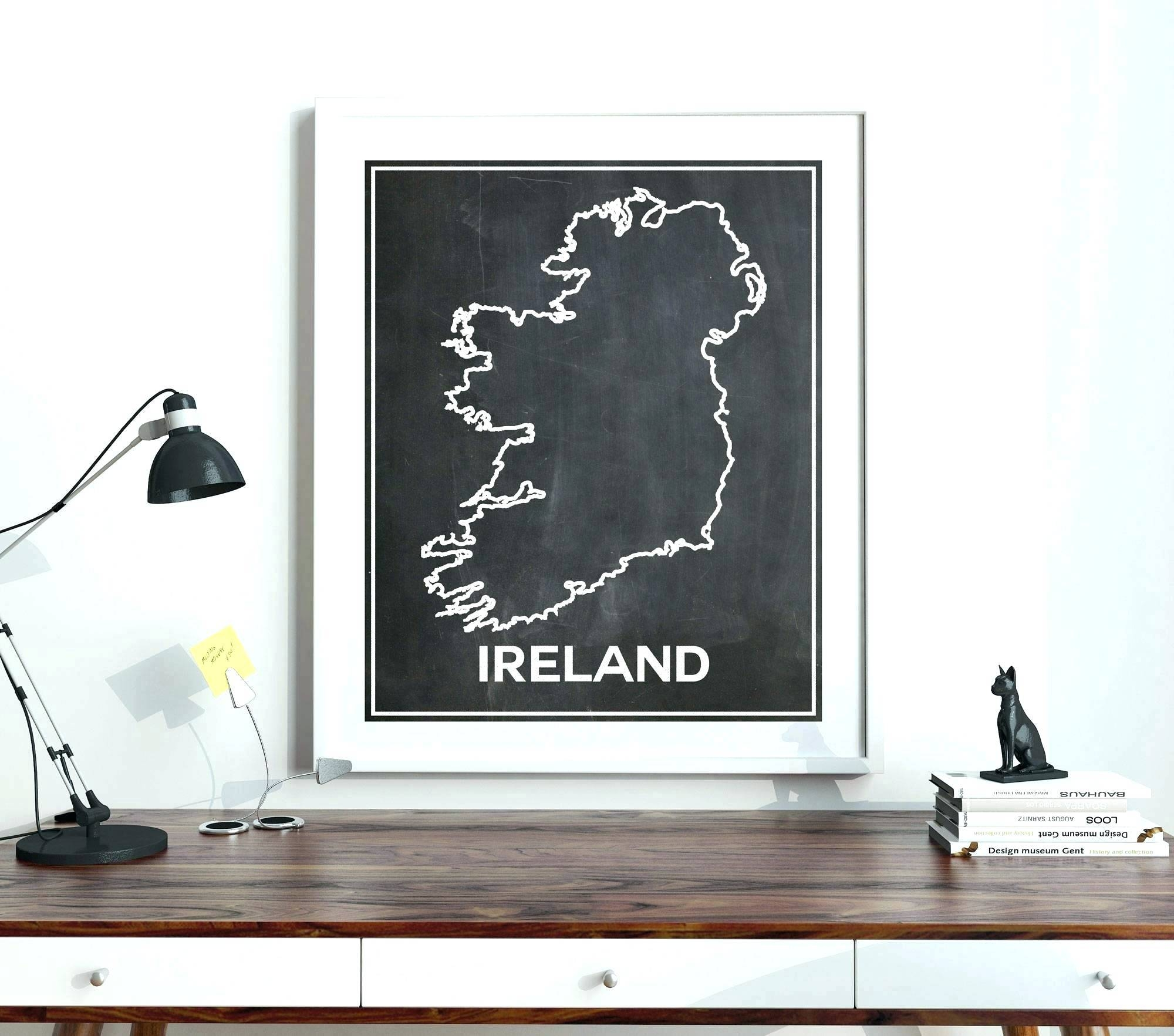Featured Photo of Ireland Metal Wall Art