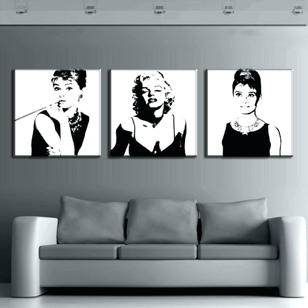 Wall Decals Marilyn Monroe – Gutesleben For Most Current Marilyn Monroe Wall Art (View 24 of 25)