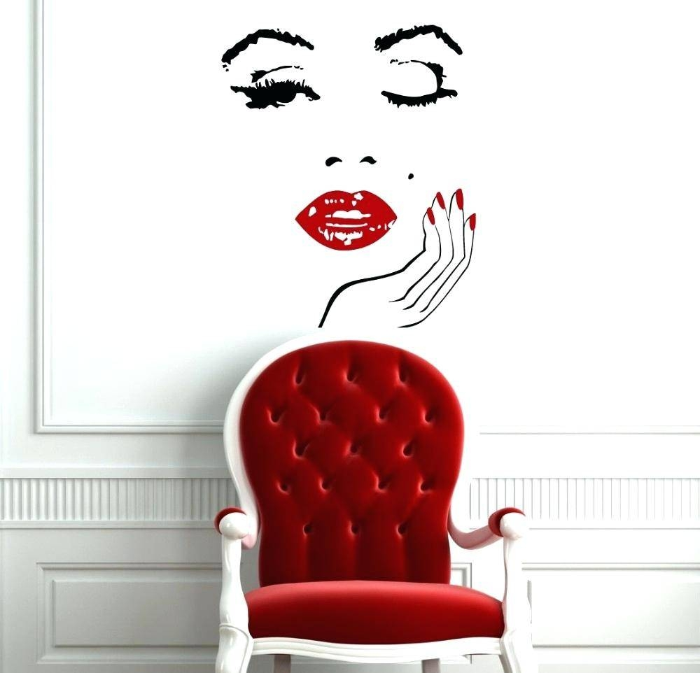 Wall Decals Marilyn Monroe Wall Decal Wall Decals – Gutesleben With Regard To Most Recently Released Marilyn Monroe Wall Art (View 14 of 25)