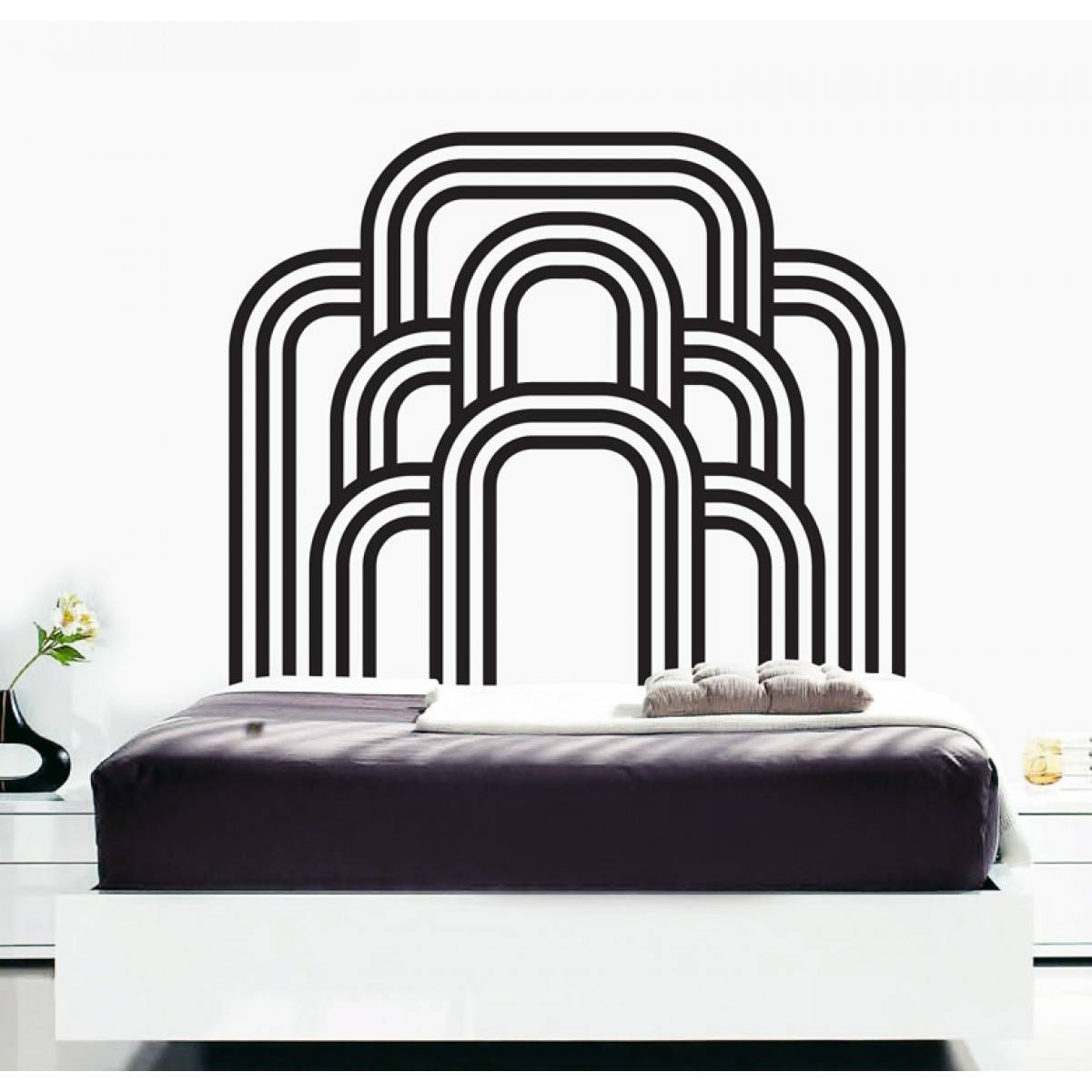 Wall Decals – Thewonderwalls® | Bedroom Art Deco Wall Stickers Intended For Most Current Art Deco Wall Decals (View 9 of 20)