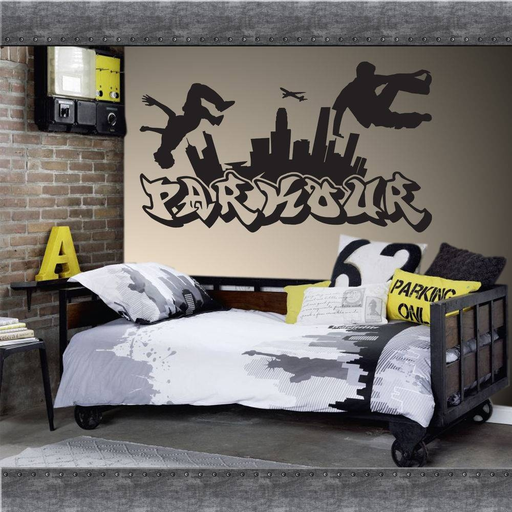 Wall Decals: Winsome Graffiti Name Wall Decals (View 4 of 30)
