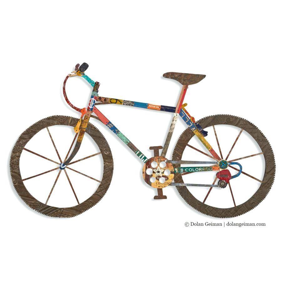 Wall Decor : 114 Wall Design Modern Ergonomic Bicycle Wall Decor With Newest Bicycle Wall Art Decor (View 18 of 20)