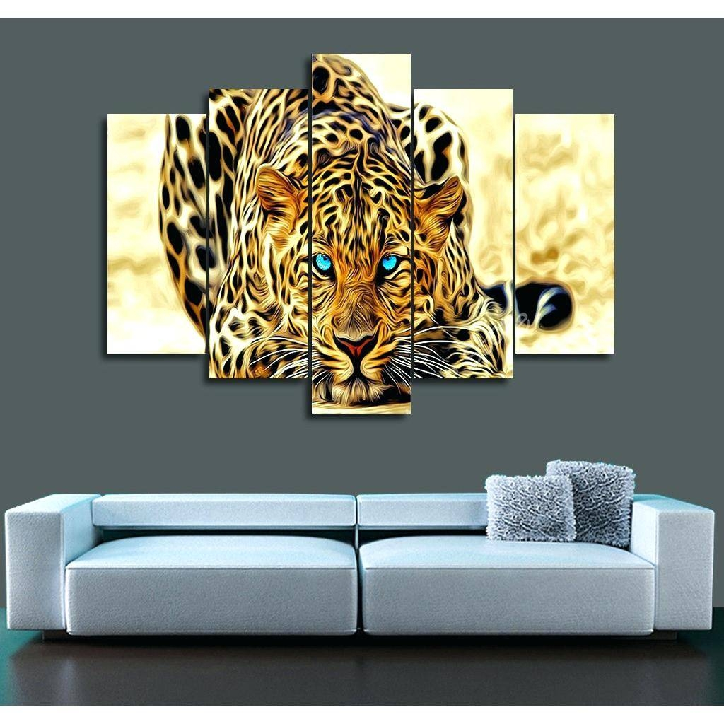 Wall Decor : 131 Wonderful 2017 Picture Print Painting Ferocious In 2017 Animal Canvas Wall Art (View 13 of 20)