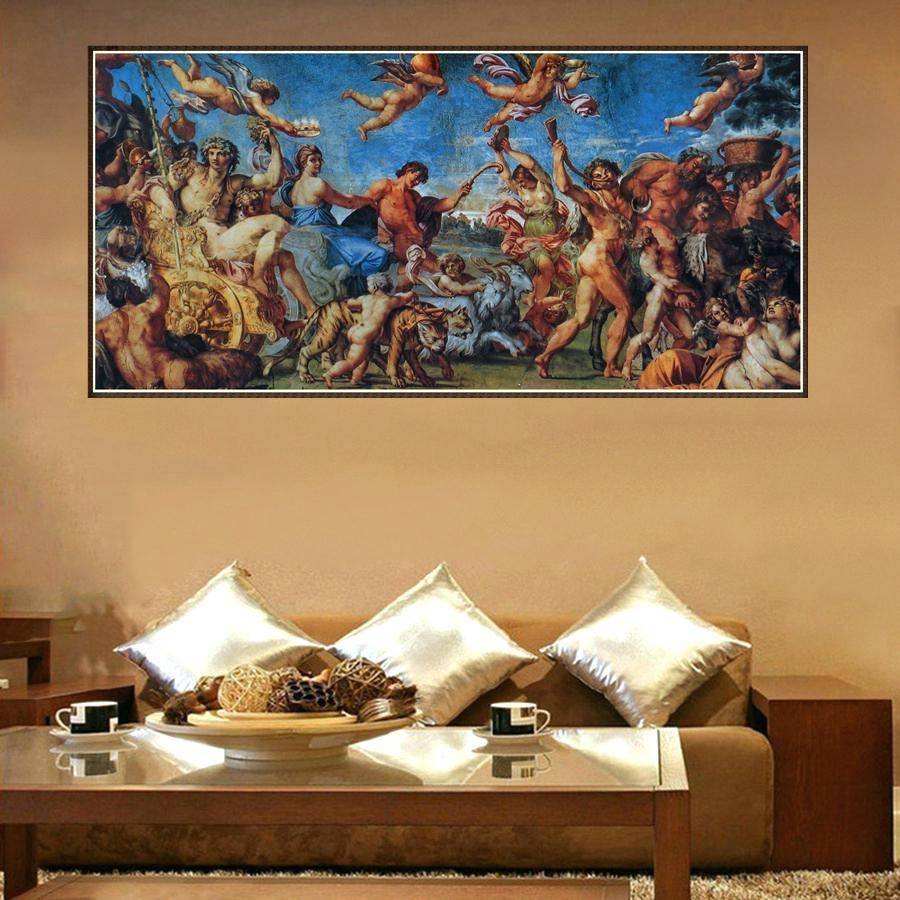Wall Decor : 14 Ancient Greek Wall Decor Zoom Awesome Zoom For Most Popular Greek Wall Art (View 17 of 20)