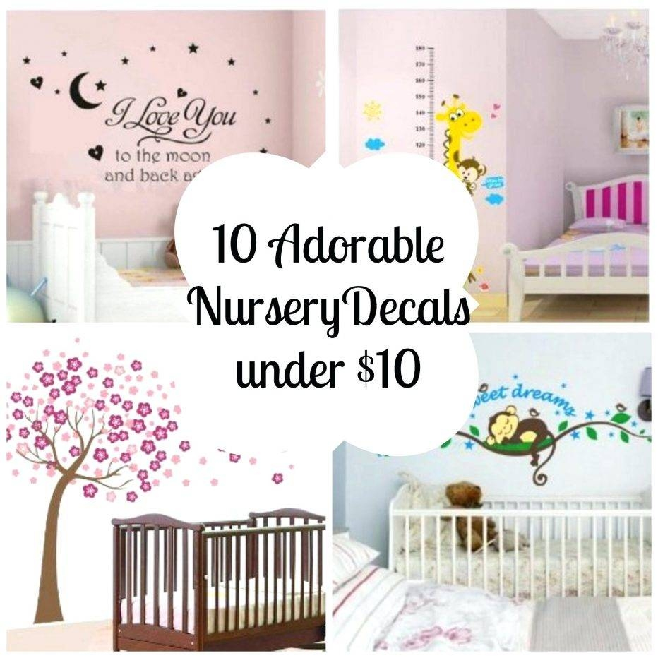 Wall Decor : 24 Cool Nurserydecals Nursery Wall Art Decals Canada With Newest Baby Wall Art (View 25 of 30)