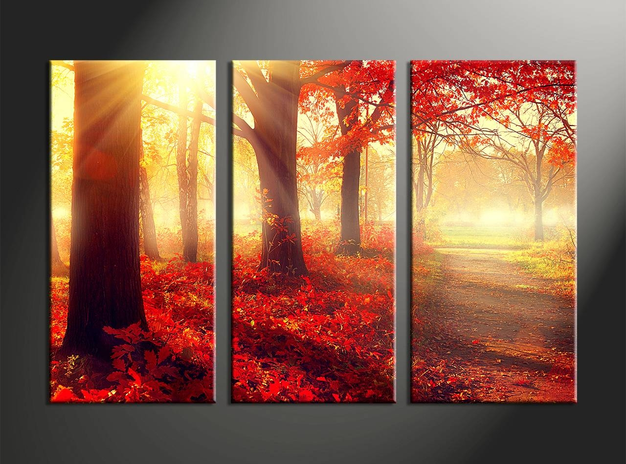 Wall Decor: 3 Piece Wall Art Images. Wall Ideas (View 7 of 15)