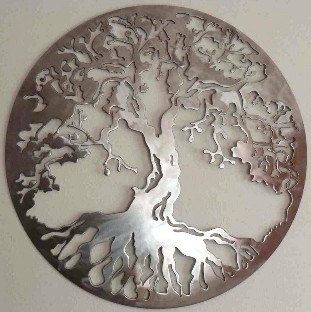 Wall Decor : 52 Stupendous Superb Metal Tree Wall Art Canada Intended For Most Up To Date Wrought Iron Tree Wall Art (View 12 of 20)