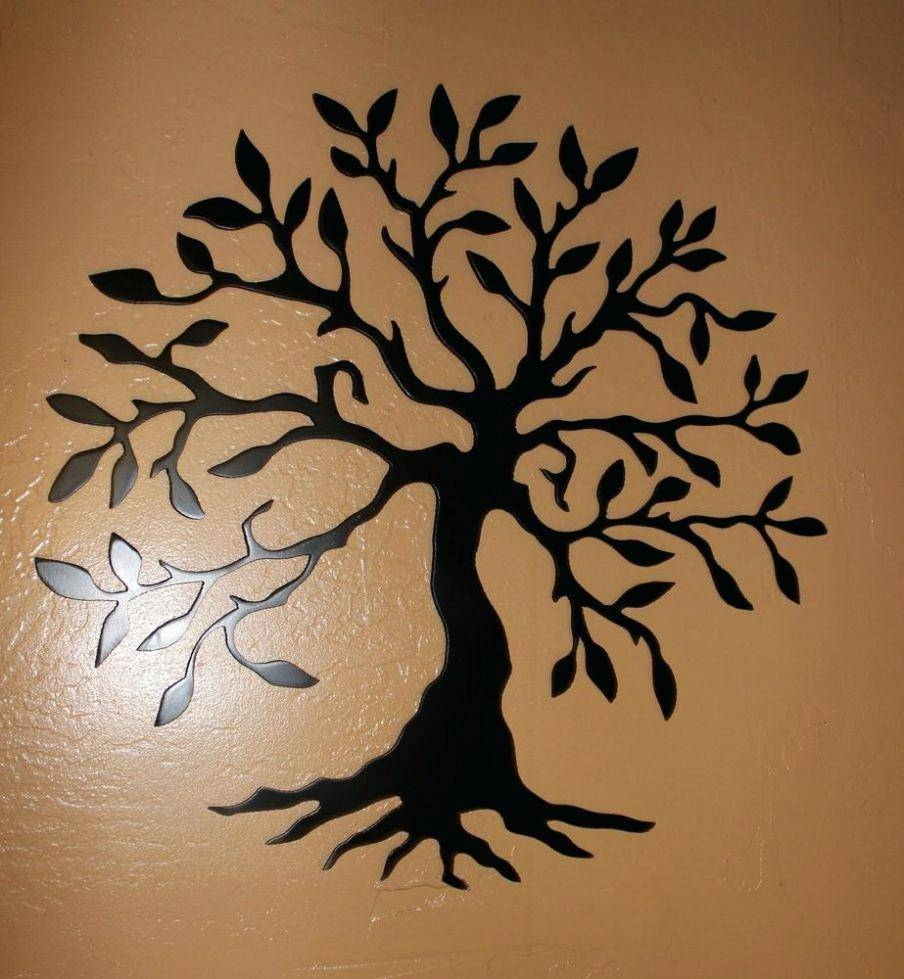 Wall Decor : 52 Stupendous Superb Metal Tree Wall Art Canada Regarding Newest Wrought Iron Tree Wall Art (View 7 of 20)