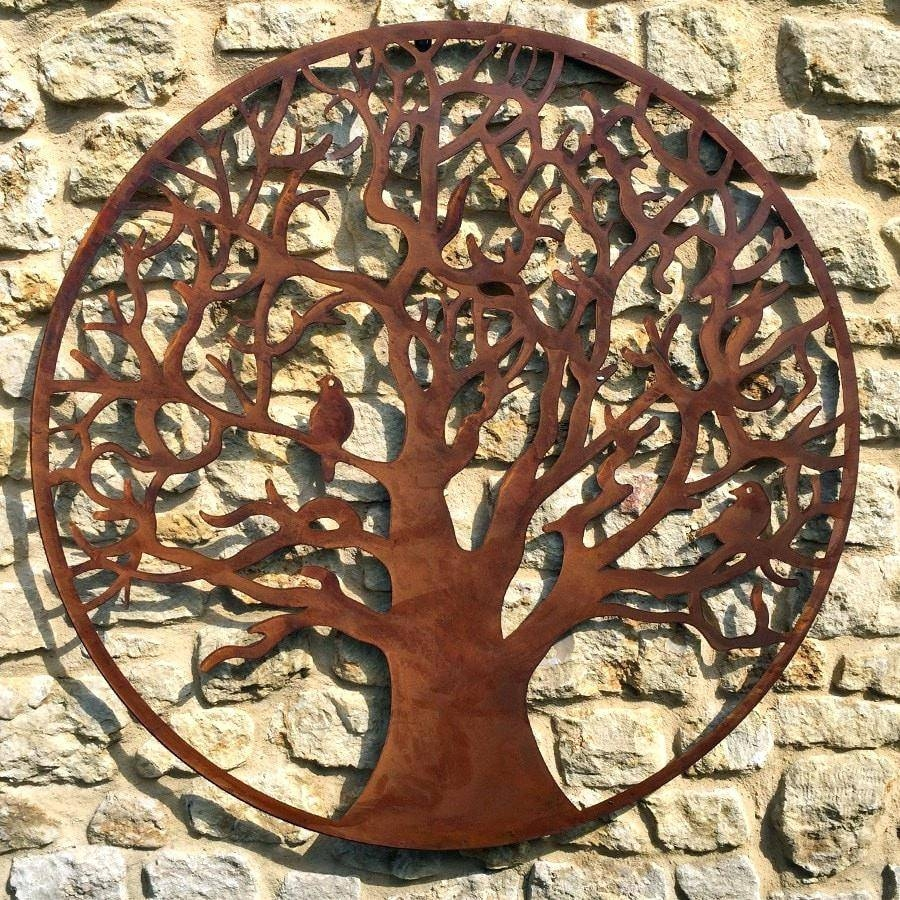 Wall Decor : 52 Stupendous Superb Metal Tree Wall Art Canada With 2018 Wrought Iron Tree Wall Art (View 15 of 20)
