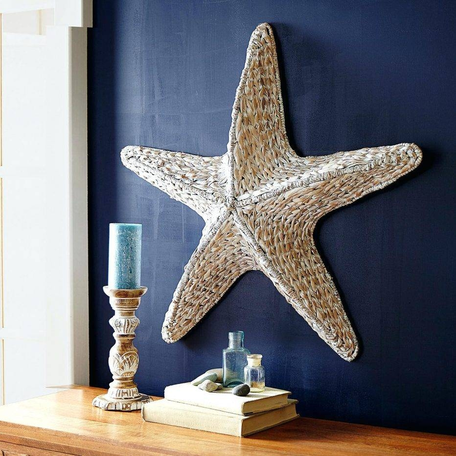 Wall Decor : 59 Large Metal Starfish Wall Art Seahorse Gems Metal Pertaining To 2017 Large Starfish Wall Decors (Gallery 10 of 25)