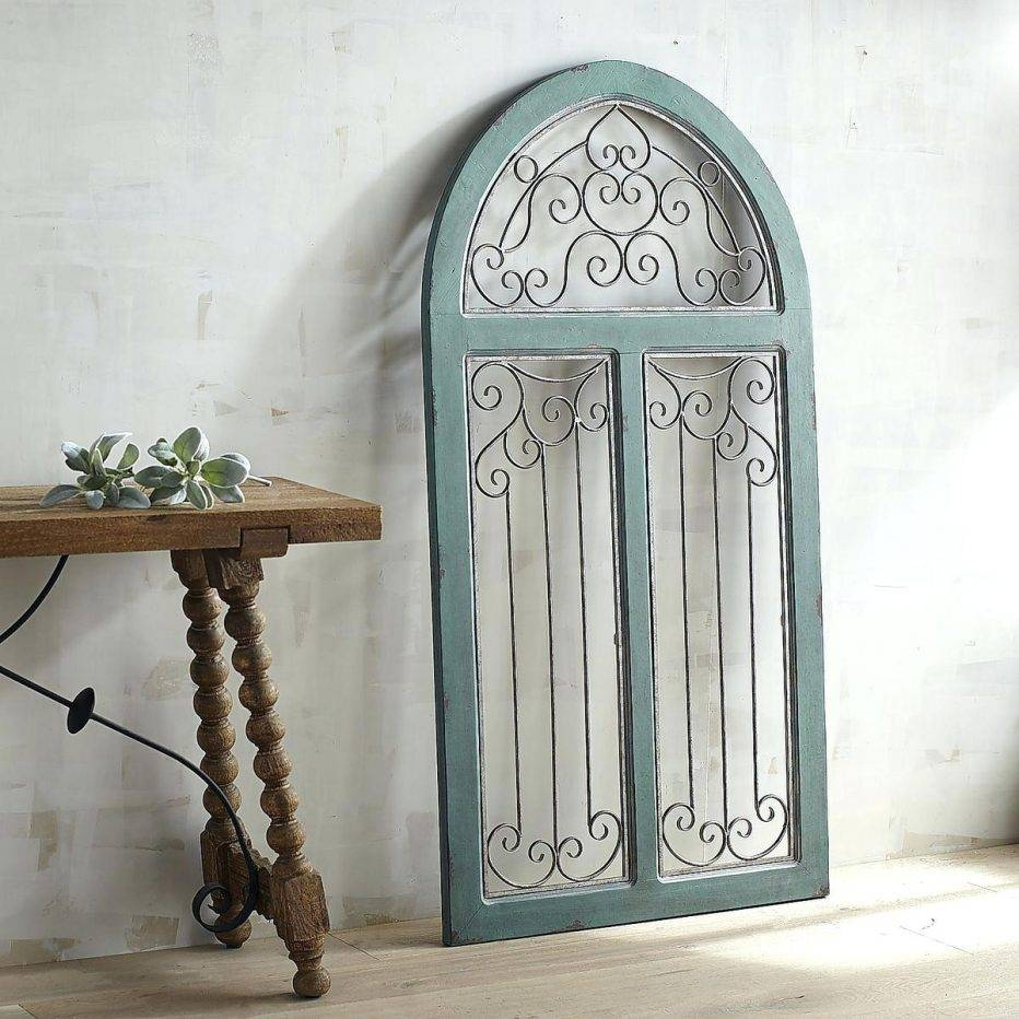 25 collection of faux wrought iron wall decors for Wrought iron exterior wall decor