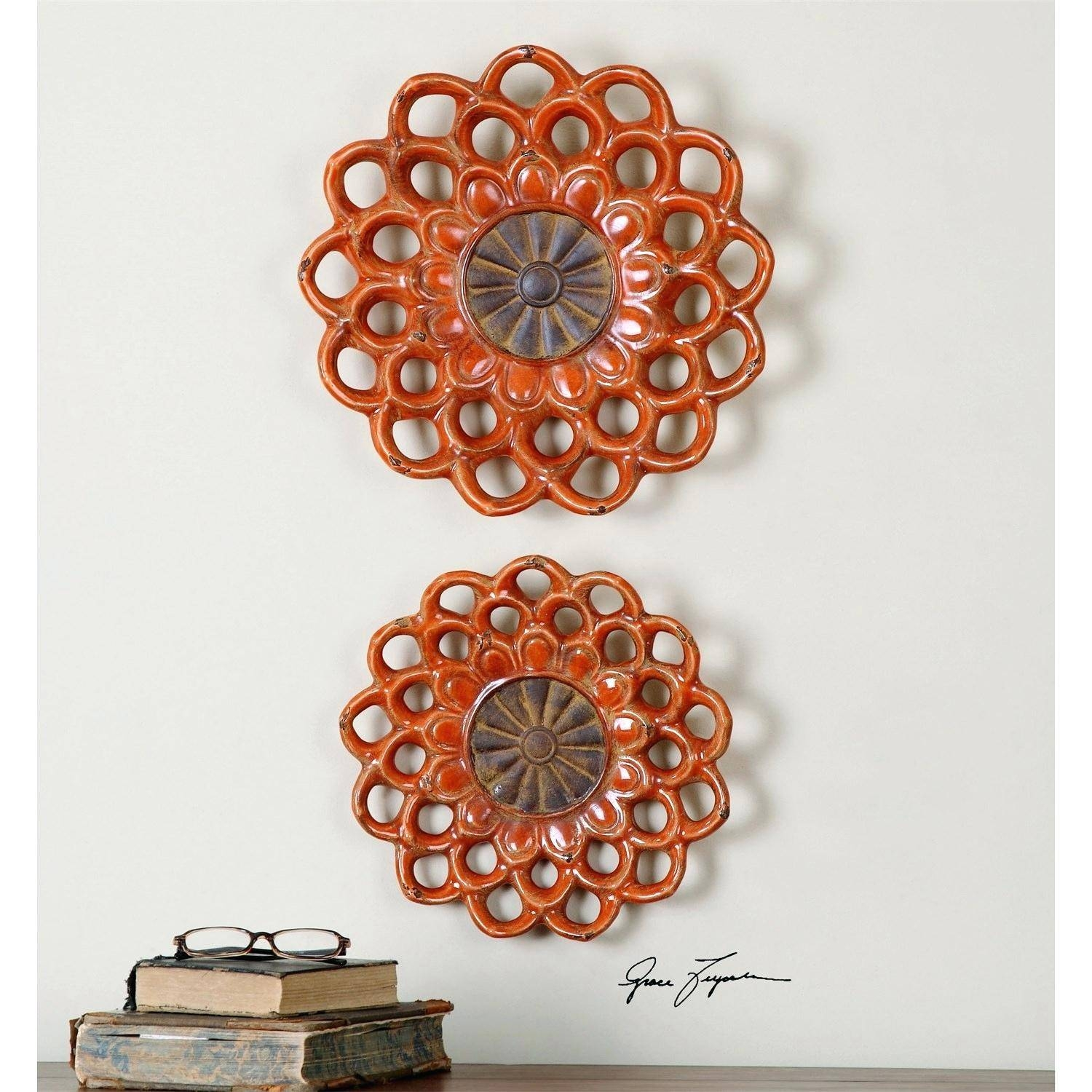 Wall Decor : 91 Wall Decor Amazing Ceramic Wall Hanging Art In Most Popular Large Ceramic Wall Art (View 8 of 25)