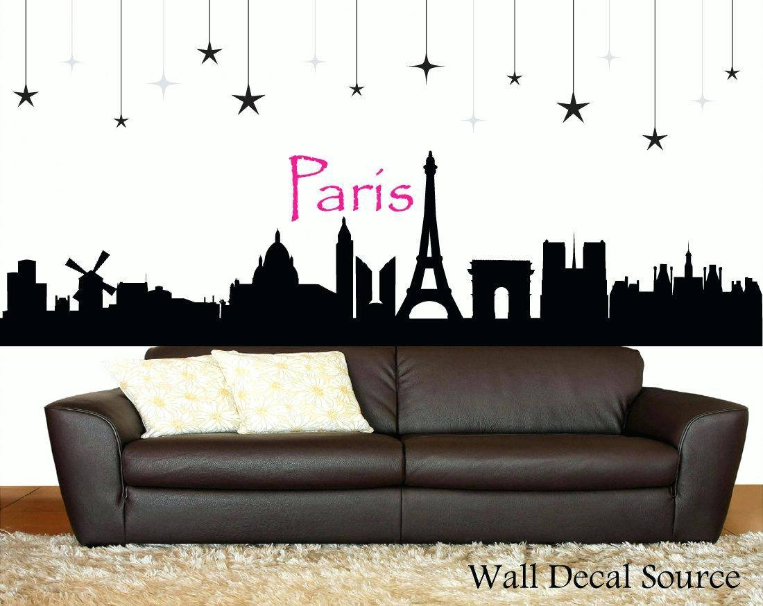 Wall Decor: Amazing Eiffel Tower Wall Decor Metal For Home Design In Newest Eiffel Tower Wall Hanging Art (View 16 of 20)
