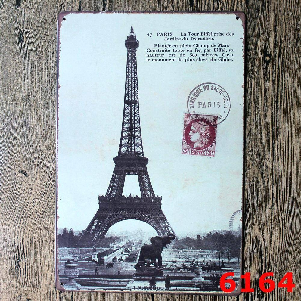 Wall Decor: Amazing Eiffel Tower Wall Decor Metal For Home Design Regarding Recent Metal Eiffel Tower Wall Art (View 12 of 30)
