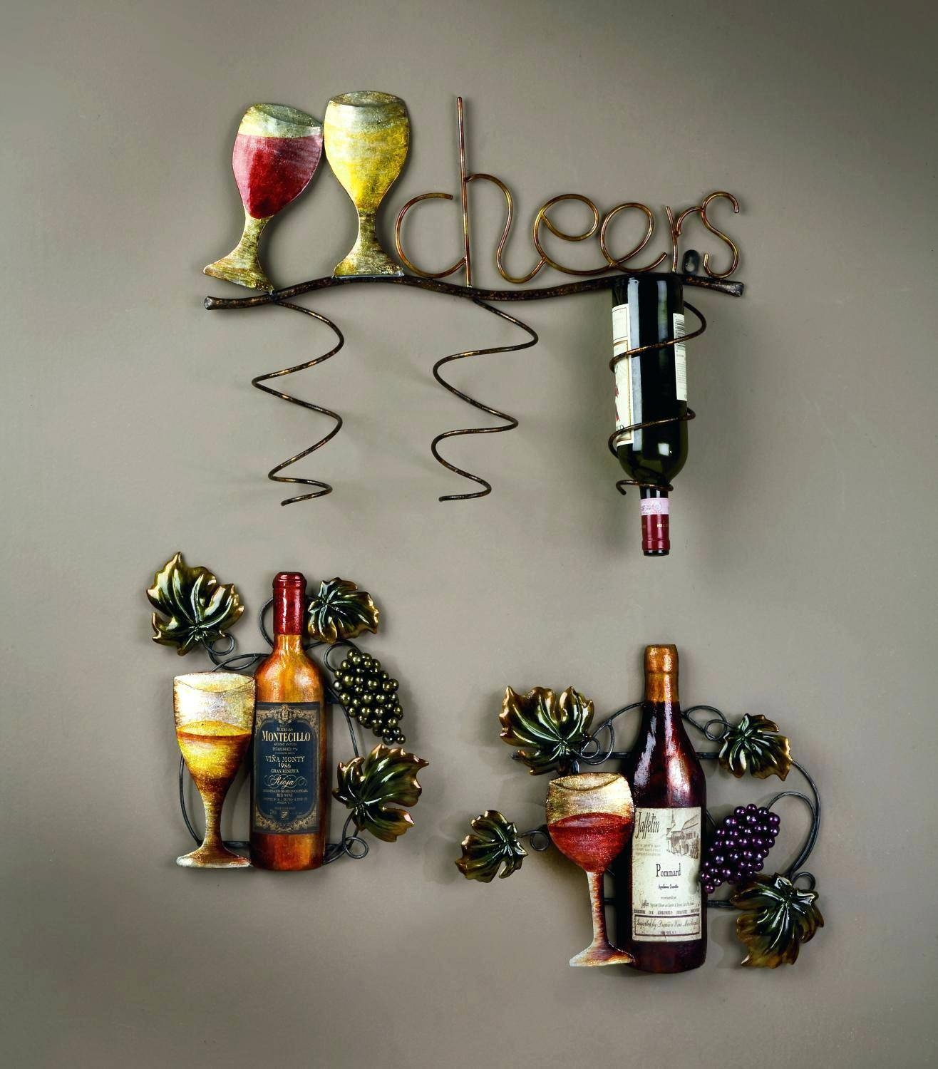 Wall Decor: Appealing Wine Themed Wall Decor Inspirations (View 1 of 20)