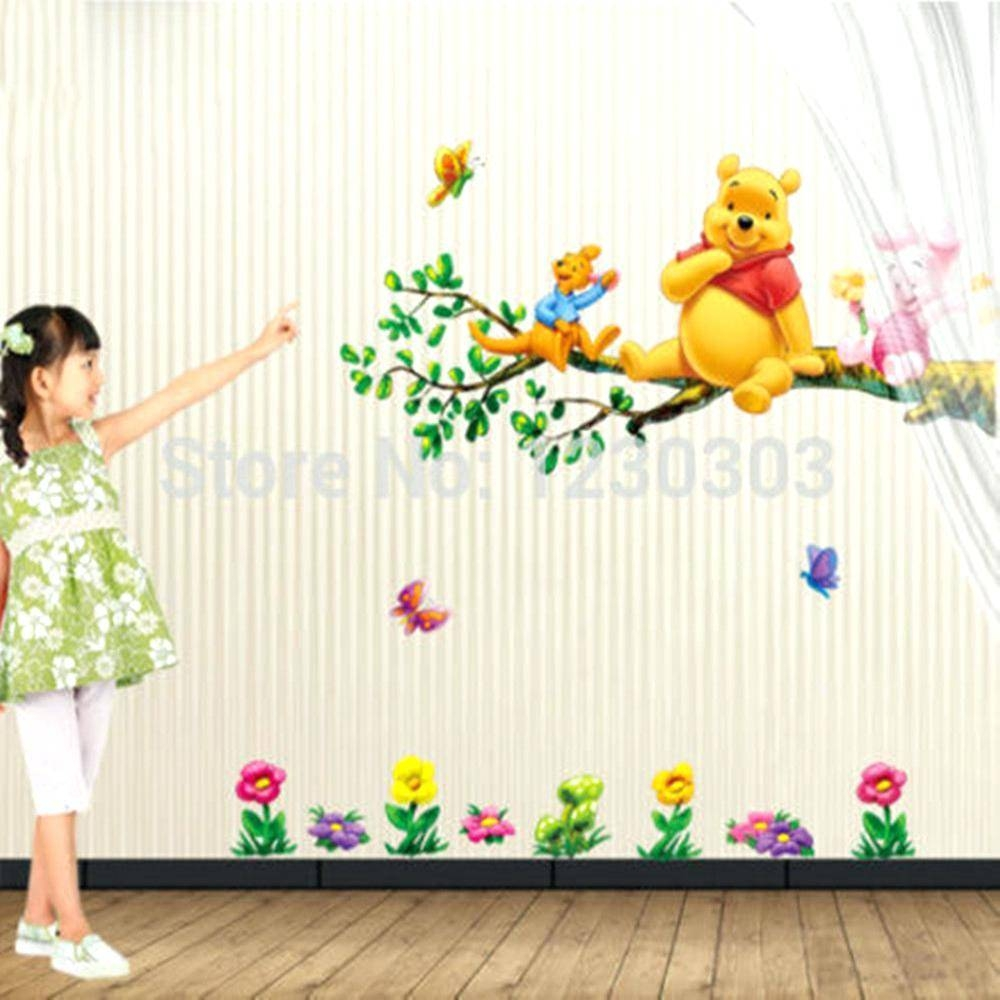 Wall Decor: Appealing Winnie The Pooh Wall Decor For Inspirations Inside Current Winnie The Pooh Vinyl Wall Art (View 8 of 20)
