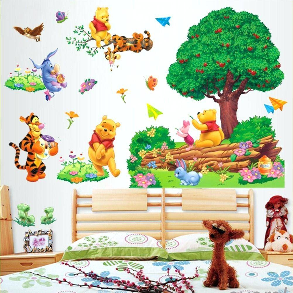 Wall Decor: Appealing Winnie The Pooh Wall Decor For Inspirations Regarding Latest Winnie The Pooh Vinyl Wall Art (View 9 of 20)
