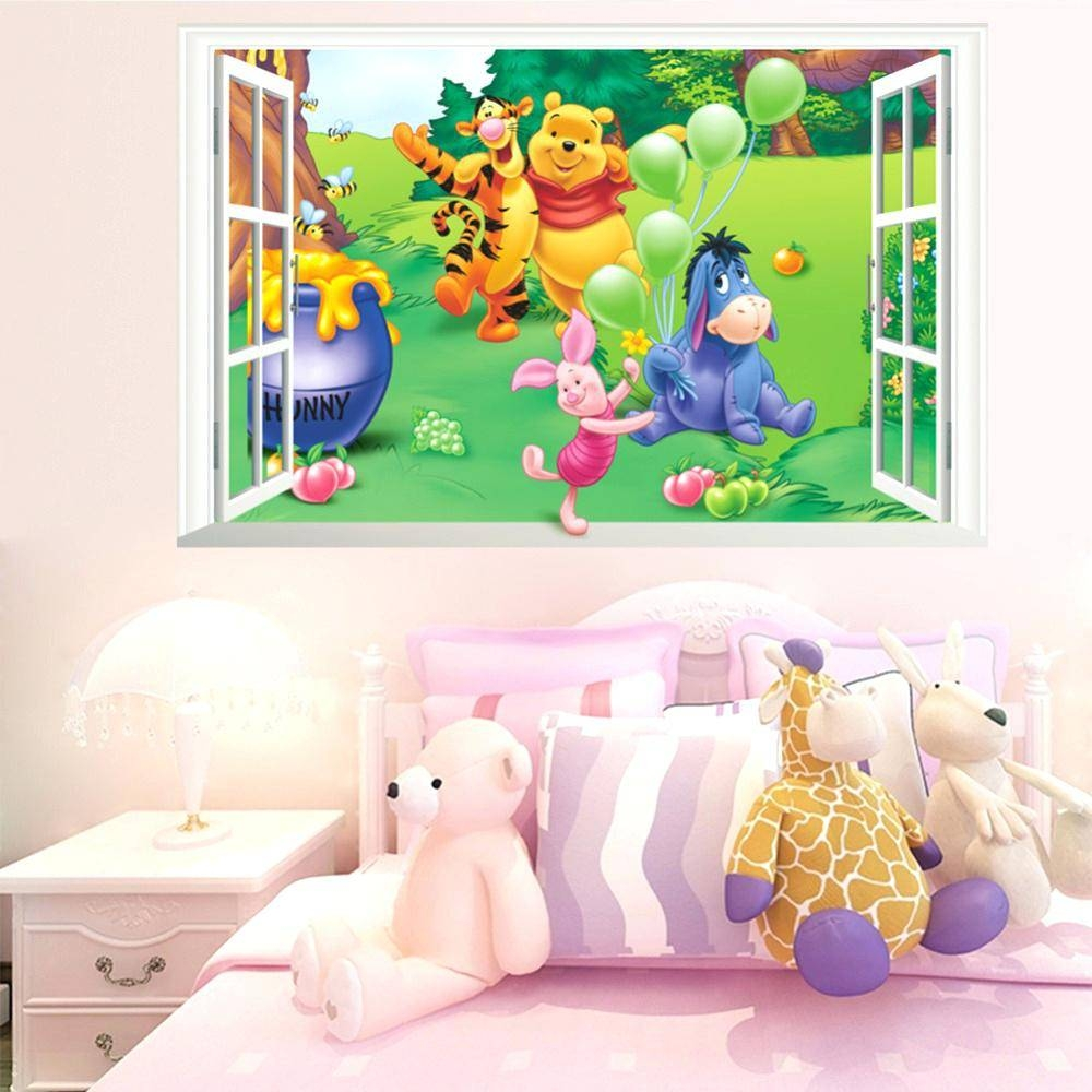 Wall Decor: Appealing Winnie The Pooh Wall Decor For Inspirations Regarding Latest Winnie The Pooh Wall Art (View 11 of 20)