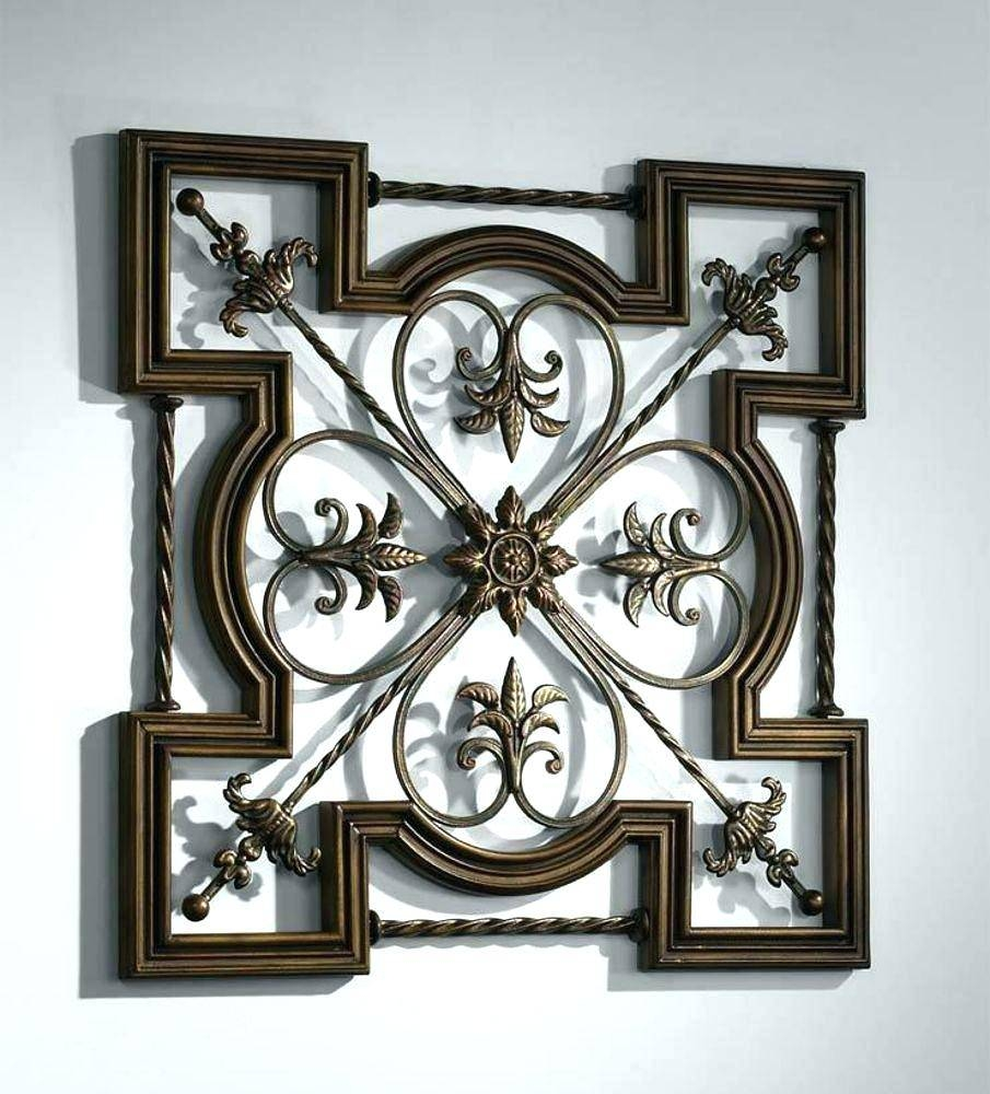 wrought nice insight home decor beautiful iron of image wall designs
