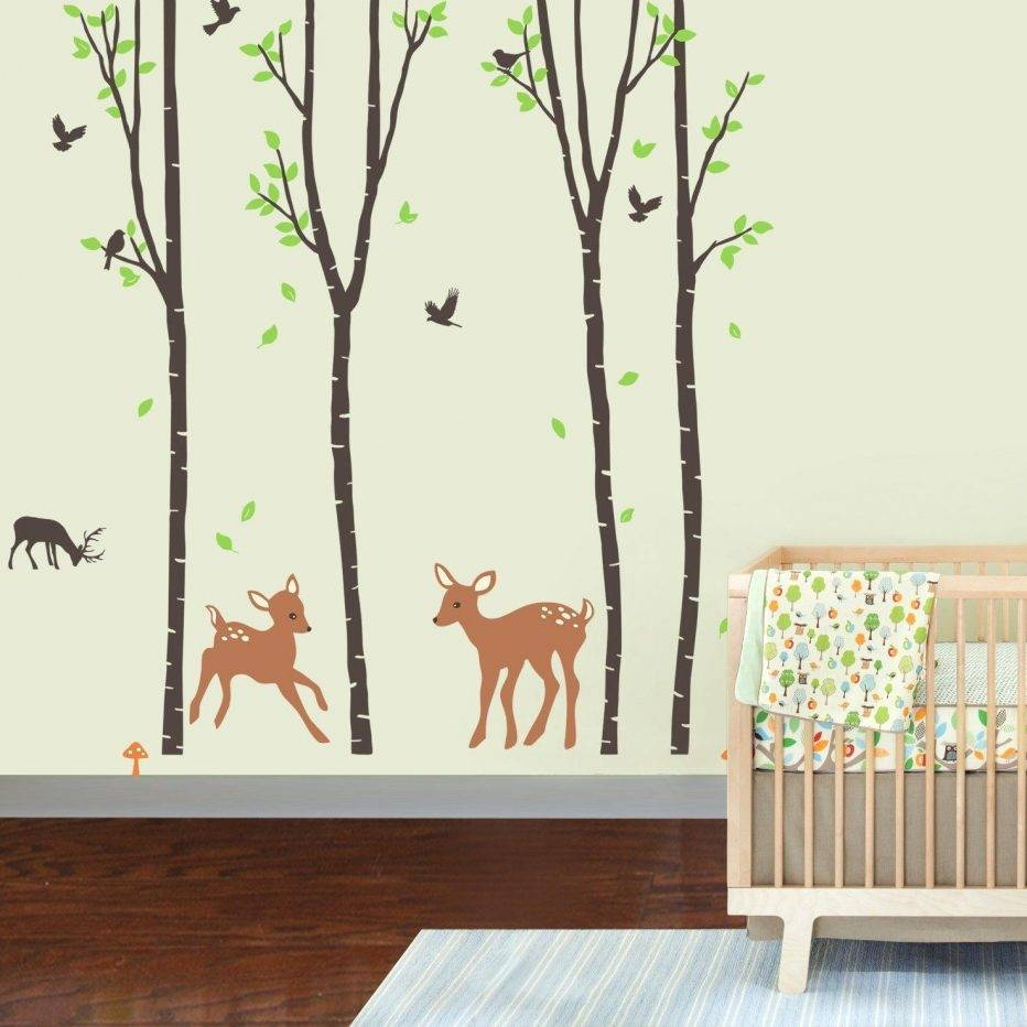 Wall Decor : Baby Nursery Wall Stickers Bathroom Wall Decorations For Latest Wall Art Deco Decals (View 7 of 20)