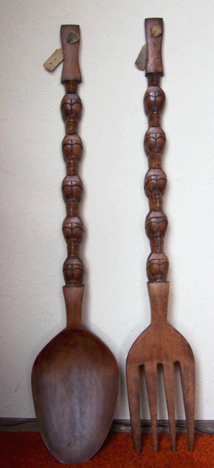 Wall Decor: Beautiful Fork And Spoon Wall Decor Inspirations For Latest Filipino Wall Art (View 18 of 30)