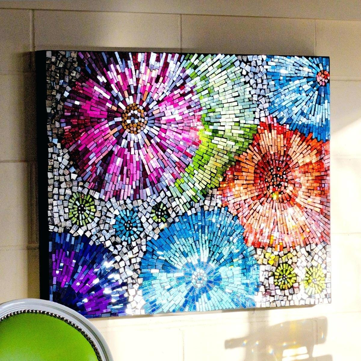Featured Photo of Modern Glass Wall Art