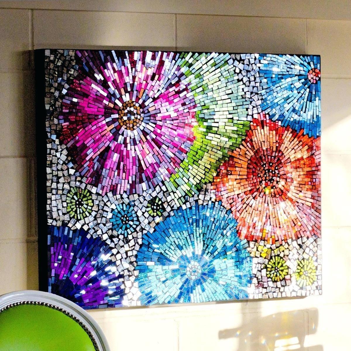 Featured Photo of Modern Glass Wall Art